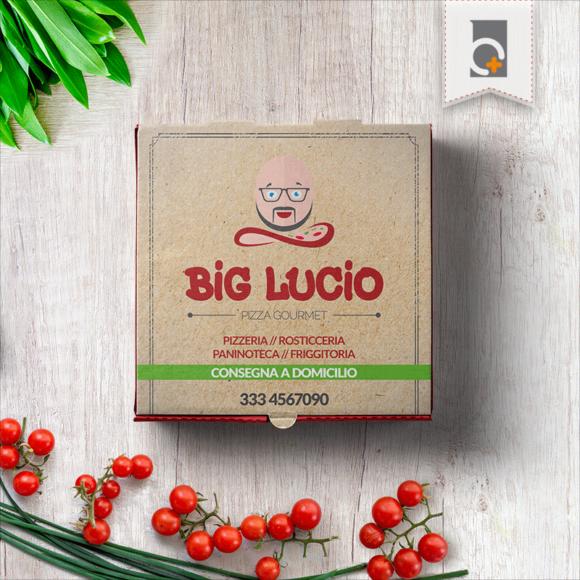 Portfolio: logo Pizzeria Big Lucio