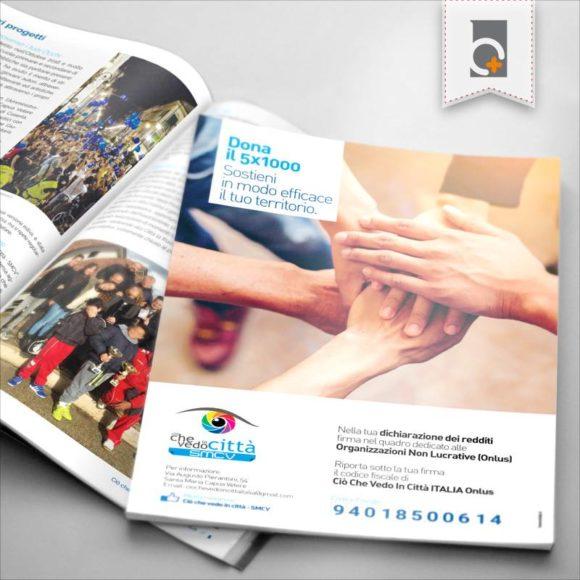 Portfolio: opuscolo servizi Ciò Che Vedo In Città Santa Maria Capua Vetere