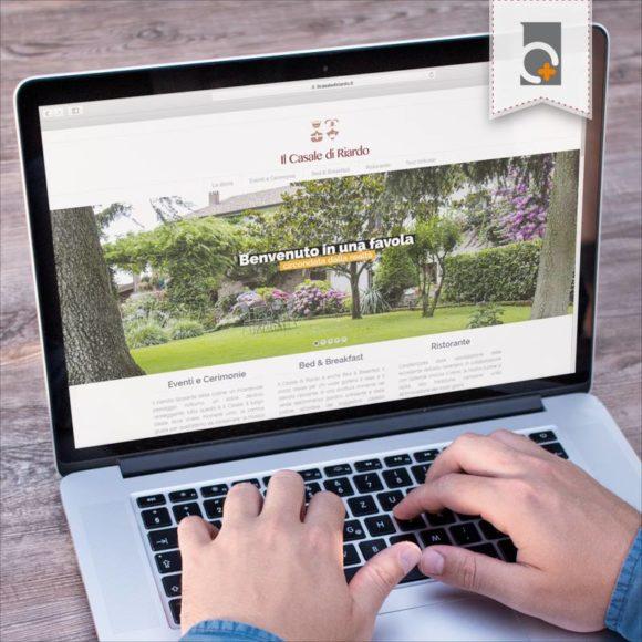 Portfolio: sito web Il Casale di Riardo