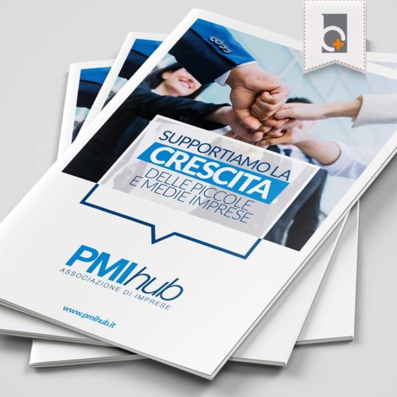 Portfolio: depliant PMI Hub Associazione di Imprese