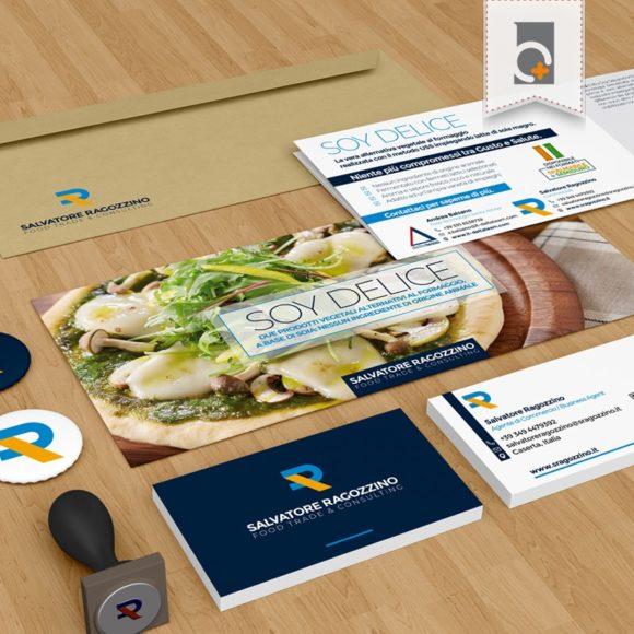 Portfolio: immagine coordinata Ragozzino Food Trade & Consulting