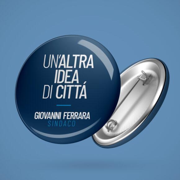 BeMoreLab. Portfolio marketing politico. 2019: Giovanni Ferrara, sindaco di San Felice a Cancello. Materiale di comunicazione.